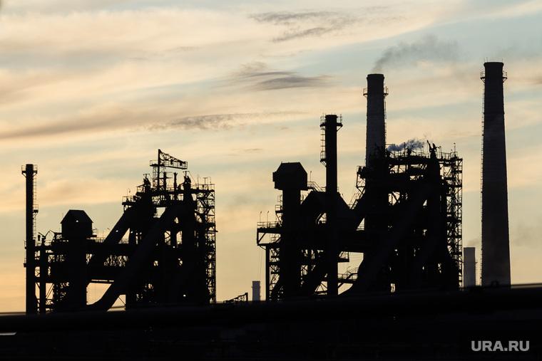 Клипарт. Магнитогорск, промзона, ммк, город, домна, промышленность челябинской области, магнитогорский металлургический комбинат, экология, доменный цех