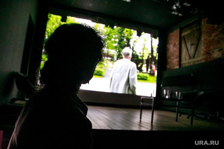 Презентация результатов исследования ВЦИОМ в Музее истории ГУЛАГа. Москва, фильм, экран, садовникова людмила, зрители