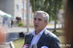 Александр Моор голосует за поправки в конституцию. Тюмень
