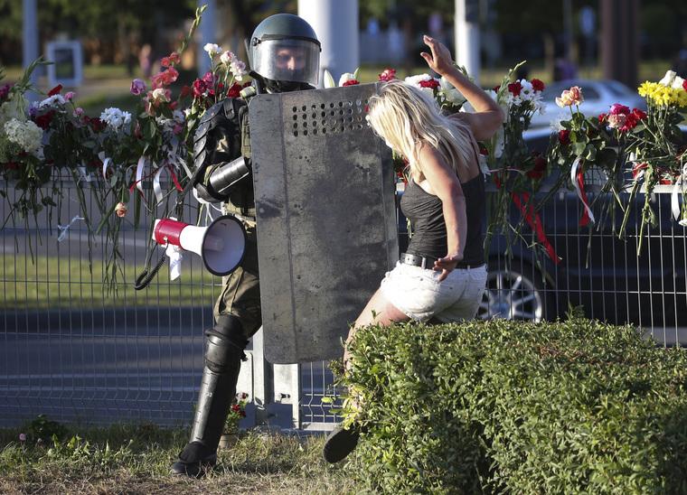 ДЛЯ СЛУХОВ, НЕ ПУБЛИКОВАТЬ. Белоруссия. Наталия Федосенко/ТАСС