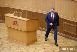 Утверждение старых новых министров и замгубернаторов Свердловской области на очередном заседании заксобрания. Екатеринбург
