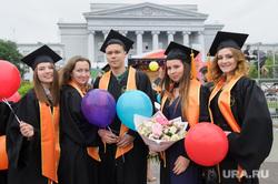 Вручение дипломов выпускникам УрФУ. Екатеринбург