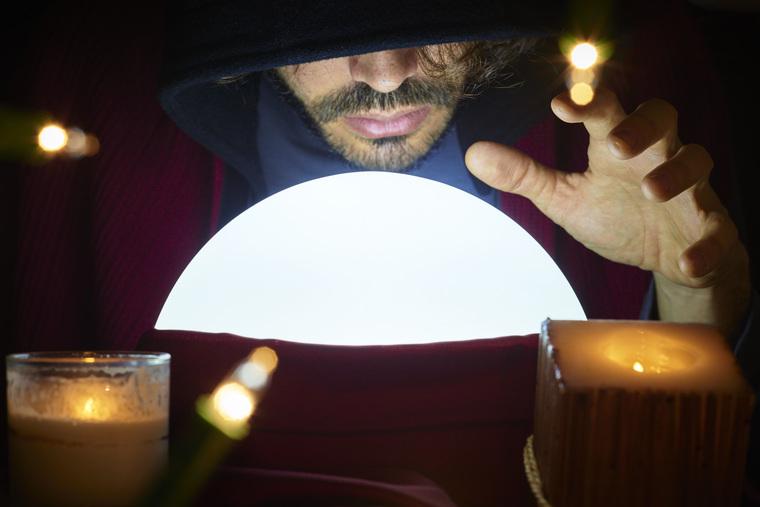 Клипарт депозитфото, фокусник, магия, волшебство, магический шар