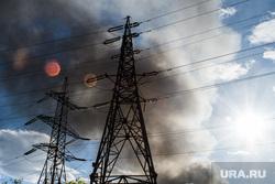 Пожар в цехе изготовления акриловых ванн по адресу Труда, 9а. Екатеринбург