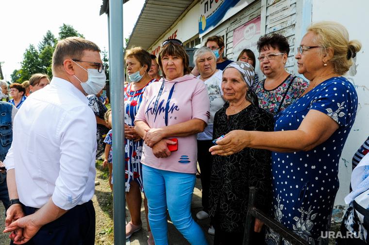 Инспекционная поездка Алексея Текслера в Касли и Озерск. Челябинская область, народный сход, текслер алексей