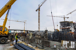 Строительство Общественно-делового центра «Конгресс-холл». Челябинск