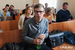 Начало чтения приговора Николаю Сандакову в суде Советского района. Челябинск