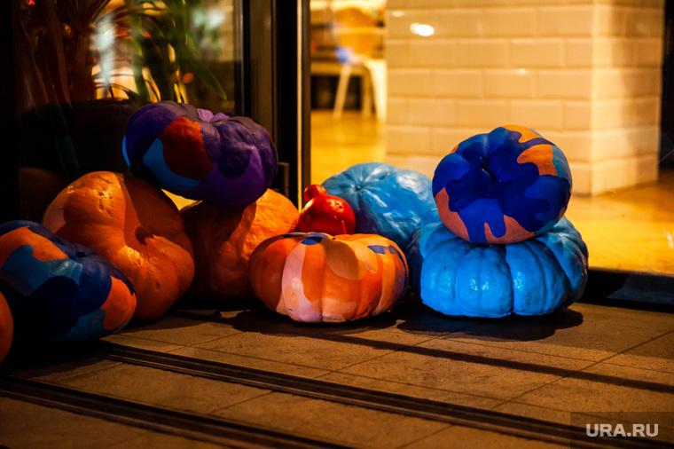 Украшения к Хэллоуину в заведениях Екатеринбурга, тыква, хэллоуин, helloween