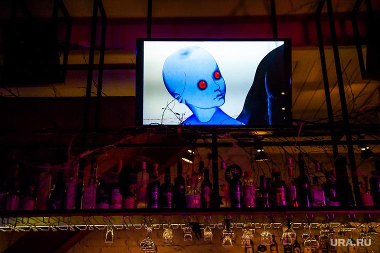 Украшения к Хэллоуину в заведениях Екатеринбурга, хэллоуин, helloween, самоцвет