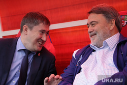 Глава ФАС Артемьев Игорь и губернатор Махонин Дмитрий на Кубке губернатора по регби. Пермь