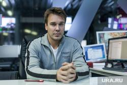 Интервью с Михаилом Зыгарем, главным редактором телеканала «Дождь». Москва.