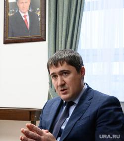 Губернатор Пермского края Дмитрий Махонин. Екатеринбург