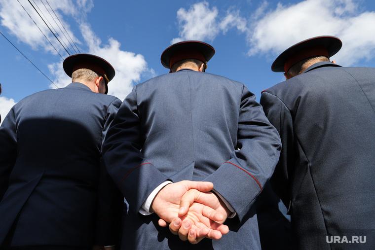 Открытие сквера памяти ветеранам ВОВ тружеников тыла и ветеранов Уголовно-исполнительной системы. Курган