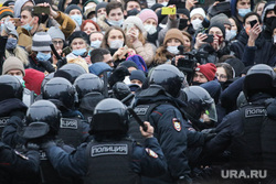 Митинг в поддержку Навального на Пушкинской площади. Москва