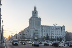Виды Перми, зима 2020 г. Пермь.