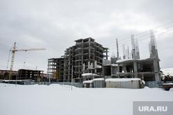 """Строительство жилого дома компанией """"Северстрой"""" в 35А микрорайоне."""