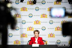 Пресс-конференция, посвященная разработке проекта комплексной программы «Общественное здоровье уральцев». Екатеринбург