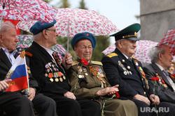 Военный парад посвященный Дню Победы. Курган