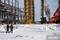 Строительная площадка деревни Универсиады-2023. Екатеринбург