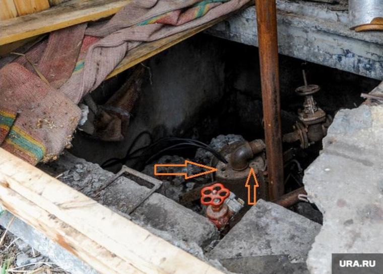 Деревня Шумаки, где нашли ртуть в водопроводе. Челябинск