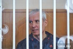 Судебное заседание по избранию меры пресечения для экс-начальника регионального МЧС Олега Рожкова. Курган