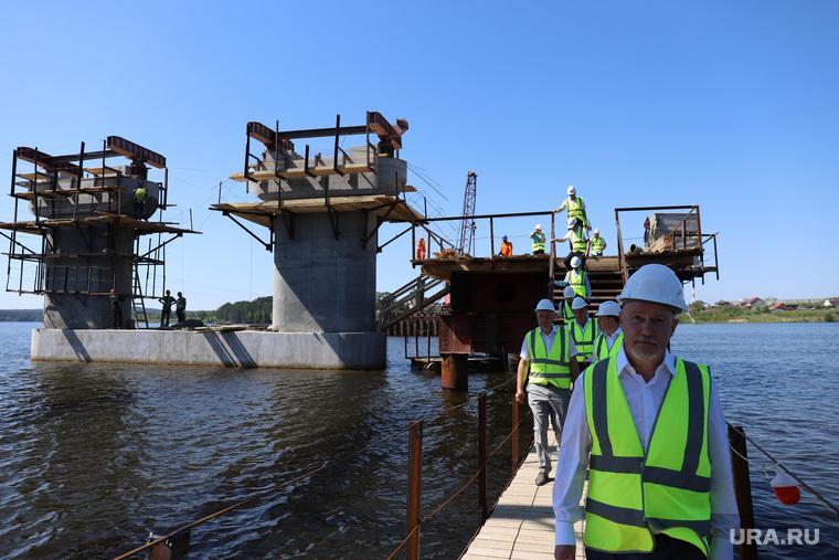Строительство нового моста. Нижний Тагил