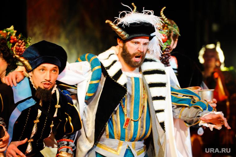 Репетиция оперы «Риголетто» в Челябинском театре оперы и балета. Челябинск, театр, репетиция, риголетто, опера