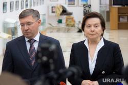 Комарова и Якушев. Пресс-конференция. Нижневартовск