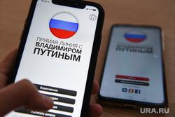 Приложение Прямая линия с Владимиром Путиным. Екатеринбург