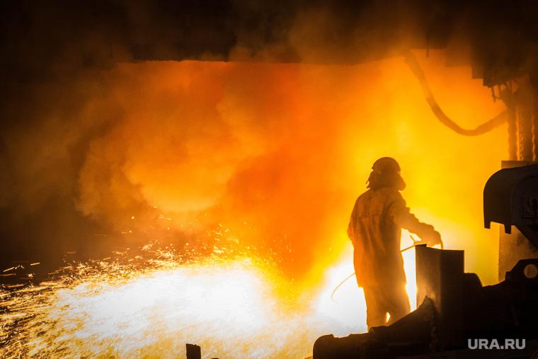 ММК. 85 лет. Магнитогорск, искры, ммк, металлургия, металл, домна, доменщик, доменная печь 9, производство