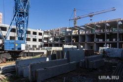 Строительство школы в 145 микрорайоне. Магнитогорск