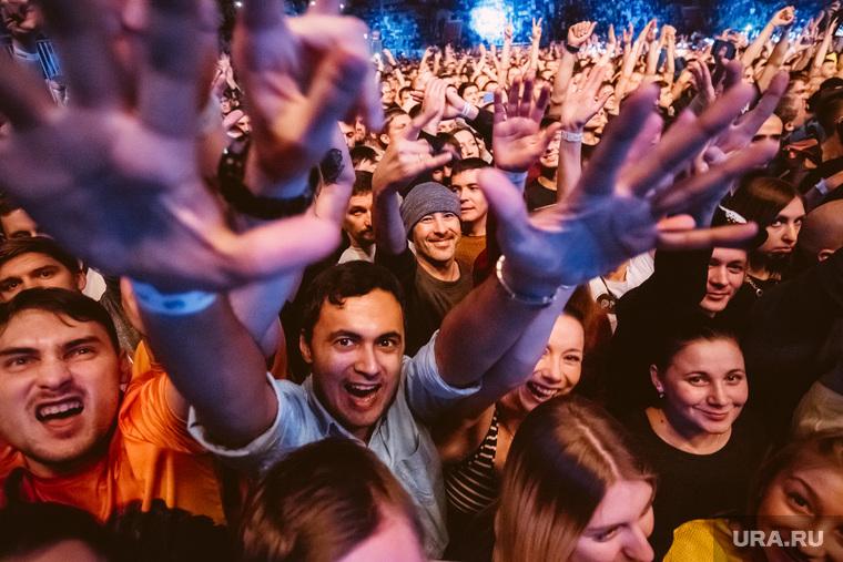 PRODIGY. Екатеринбург, концерт, фанаты, клуб, зрители, толпа