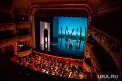 Генеральная репетиция новой постановки оперы «Русалка» на сцене Екатеринбургского театра Оперы и балета. Екатеринбург