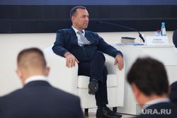 Встреча губернатора области Шумкова Вадима и генерального директора АО «Корпорация «МСП» Исаевича . Курган
