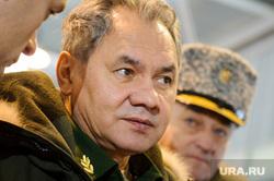 Визит министра обороны РФ Сергея Шойгу в Екатеринбург