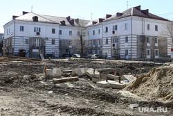 Начало строительства жилого дома по улице Коли Мяготина. Курган