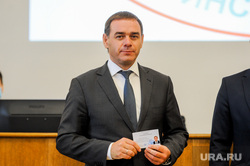 Вручение мандатов кандидатам, победившим на выборах в законодательное собрание. Челябинск