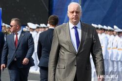 Торжественная церемония празднования Дня ВМФ на Сенатской площади. Санкт-Петербург
