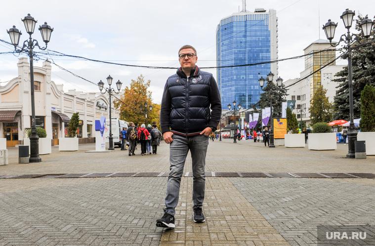 Алексей Текслер на открытии новой набережной. Челябинск, текслер алексей