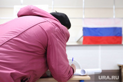Ситникова Елена на выборах. Курган