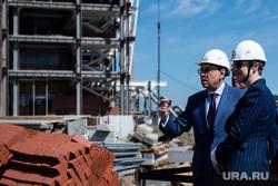 Визит руководителя образовательного центра «Сириус» на строящиеся объекты в рамках подготовки к Универсиаде-2023. Екатеринбург