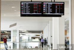 Аэропорт Кольцово после происшествия с посадкой самолета АН-12. Екатеринбург