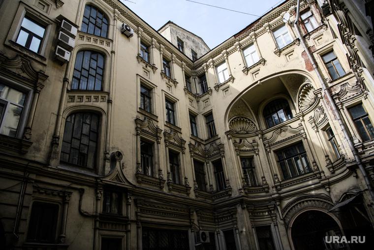 Виды Москвы, саввинское подворье, улица тверская6 строение6