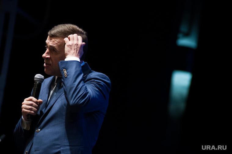 Завершающий этап праймериз по подбору кандидата на выборах губернатора Свердловской области. Екатеринбург, куйвашев евгений, портрет