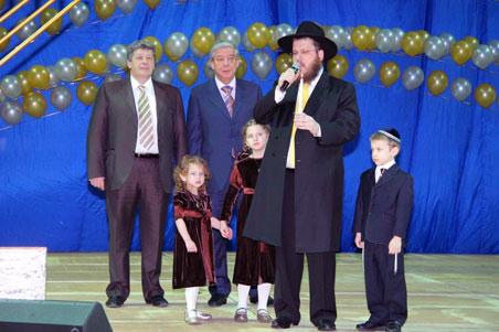 Александр Мишарин обратился к евреям Свердловской области
