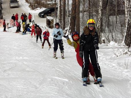 В Миассе заработал первый на Южном Урале городской горнолыжный центр