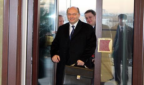 Александр Мишарин появился в компании управделами губернатора Олега Бакина