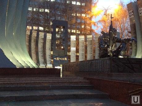 Черный тюльпан Екатеринбург, памятник