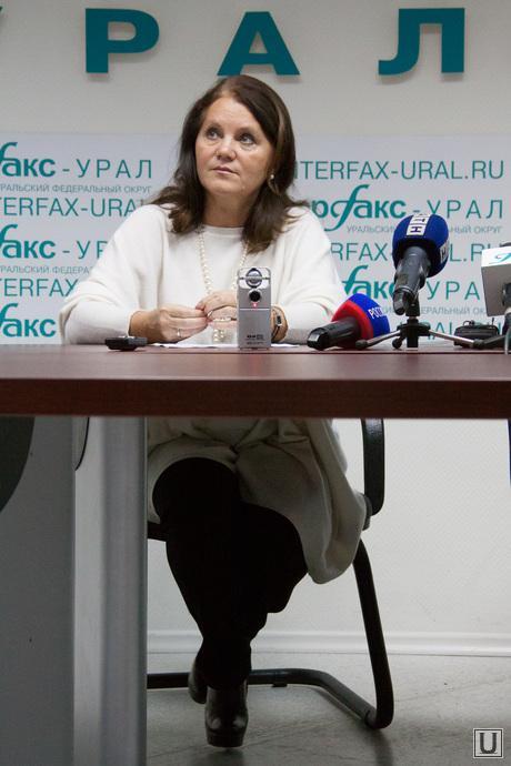 Пресс-конференция с Оксаной Грединой, Оксана Гредина