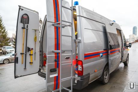 Презентация автомобиля радиационной безопасности. Екатеринбург